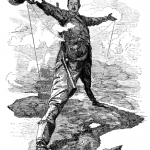 The Rhodes Colossus: Caricature of Cecil John Rhodes, after he announced plans for a telegraph line and railroad from Cape Town to Cairo.Edward Linley Sambourne. The Rhodes Colossus. Cartoon, December 10, 1892. http://en.wikipedia.org/wiki/File:Punch_Rhodes_Colossus.png.