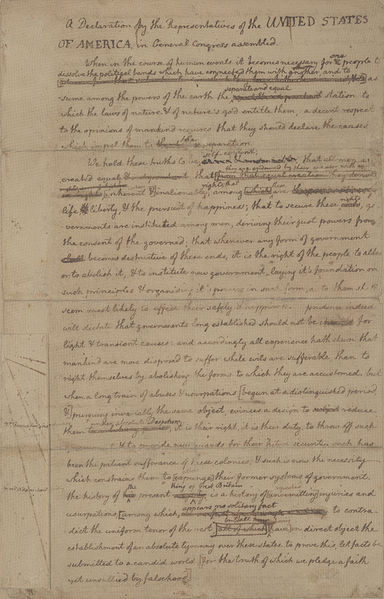 http://en.wikipedia.org/wiki/File:US_Declaration_of_Independence_draft_1.jpg
