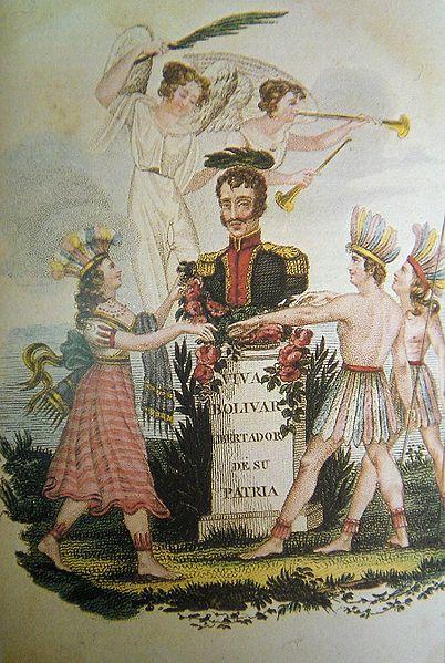 """""""La Victoria de Junín"""" by J.J. Olmedo (1826)"""