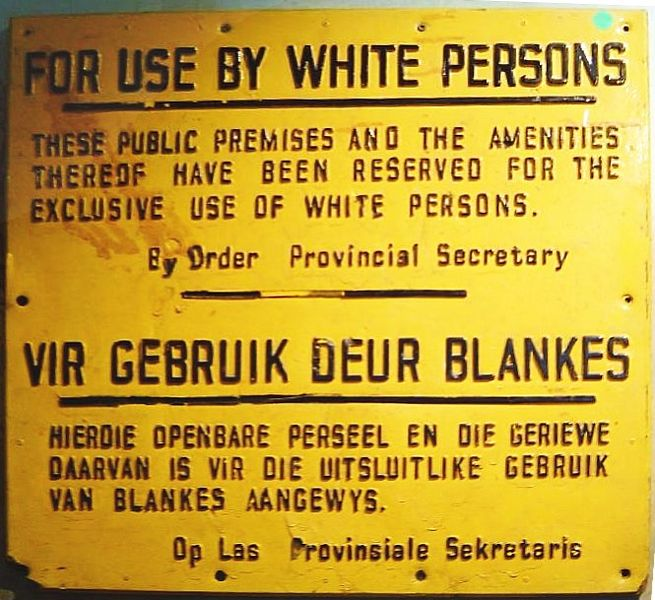 How did the Apartheid lead to problems in South Africa?