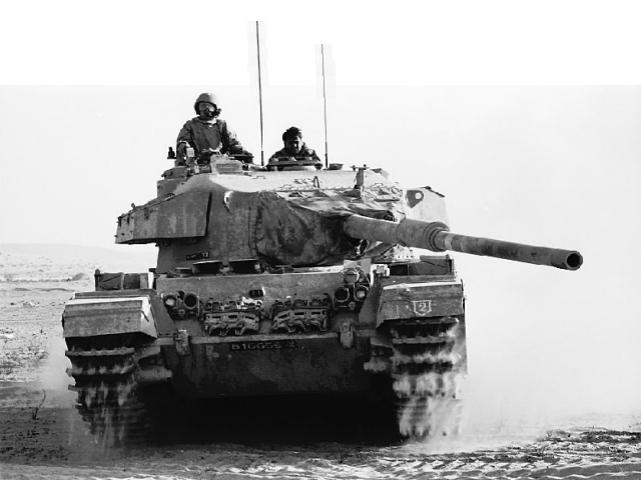 An Israeli Centurion tank operating in the Sinai during the Yom Kippur War (Image courtesy of Wikimedia)
