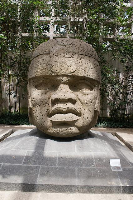 Colossal Olmec Head #1, Museo Antropológico de Xalapa, Veracruz