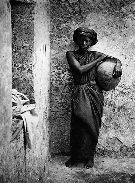 East African slave woman, 19th century.
