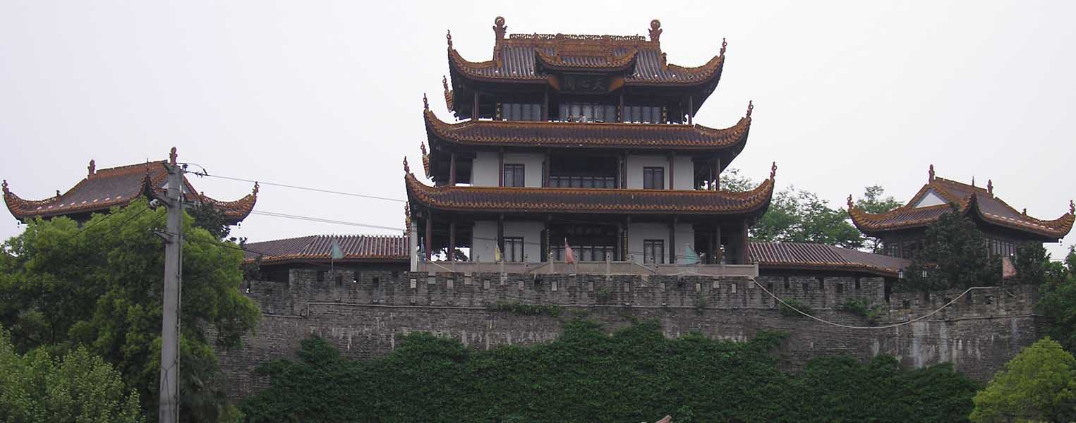 Tianxin Pavilion, located at the south gate of Changsha.