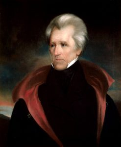Ralph E. W. Earl's presidential portrait of Andrew Jackson