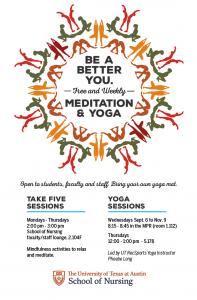 Weekly Meditation and Yoga