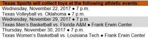 Orange Santa Toy Drop Schedule