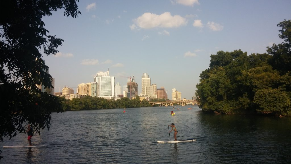 Photo of Lady Bird Lake in Austin by Dylan Beam