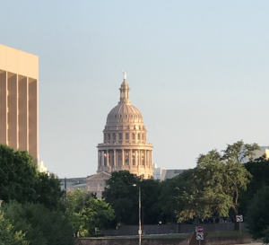 view of the Texas Capitol building