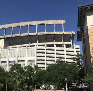 Photo of the UT Football stadium