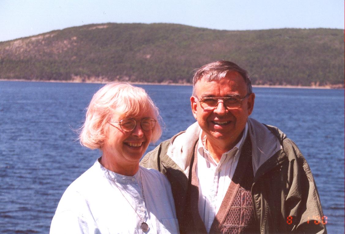 Elisabeth and Karl Butzer (Newfoundland, 1999)