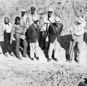 At the Melka-Kontoure Site, Ethiopia, 1971