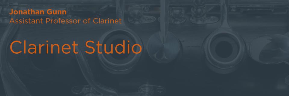Clarinet Studio | Butler School of Music | University of Texas at Austin
