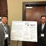 Ming Zhang and Brendan Goodrich at ACSP with poster