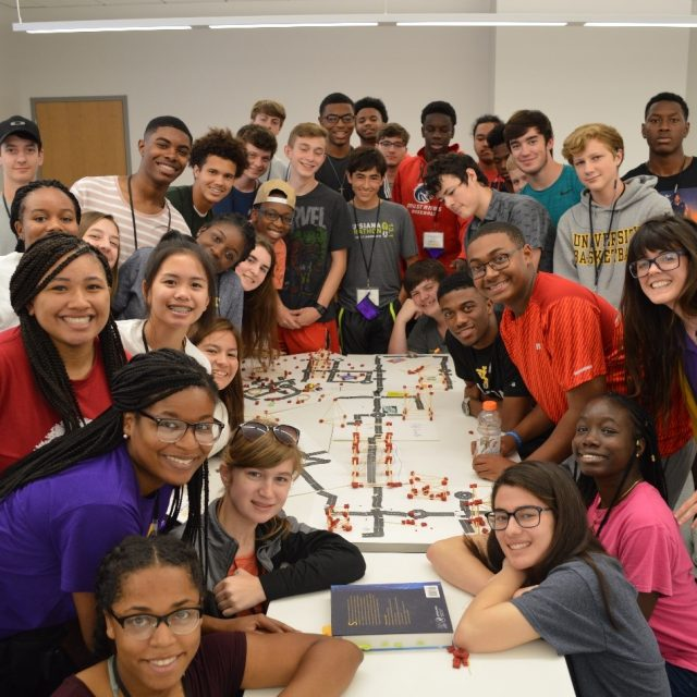 CM2 Funded Researchers at Louisiana State University Organize Transportation Engineering Summer Camp