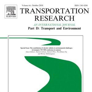 Transportation Research Part D Journal