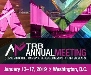 TRB Annual Meeting 2019 Logo