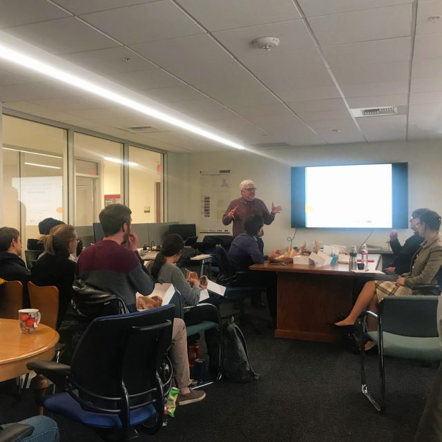 March Brown Bag Lunch with Dr. Landis