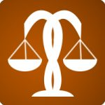 Law Icon Orange