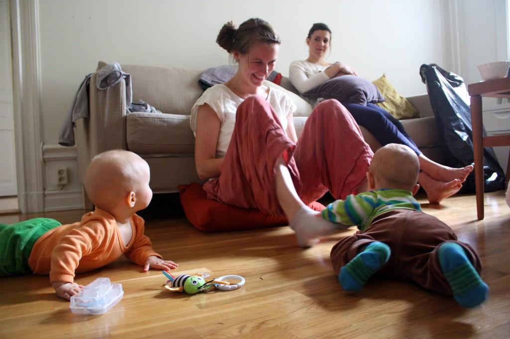 Helena on Maternity Leave, Stockholm, Sweden. June 2013. Caitlyn Collins.