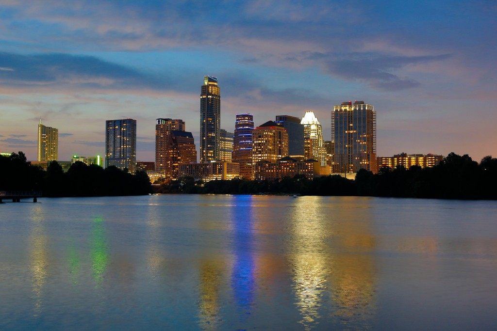 """Austin City Lights,"" Photo by Julia Robinson"