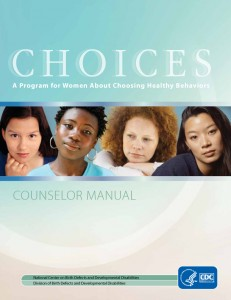 Choices Counselor manual cover.
