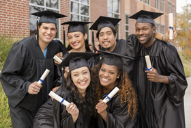 Image of high school graduates