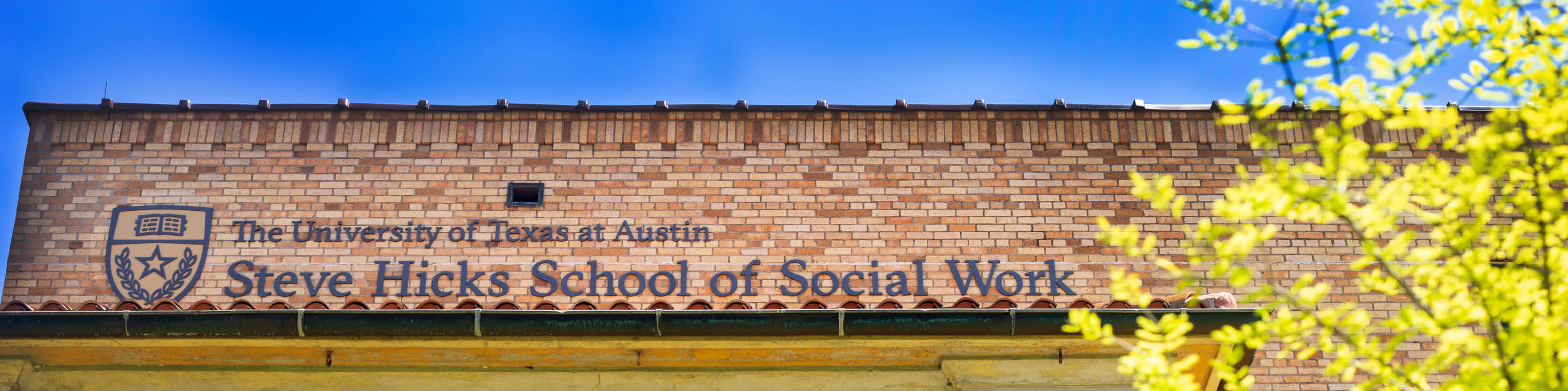 Steve Hicks School of Social Work building
