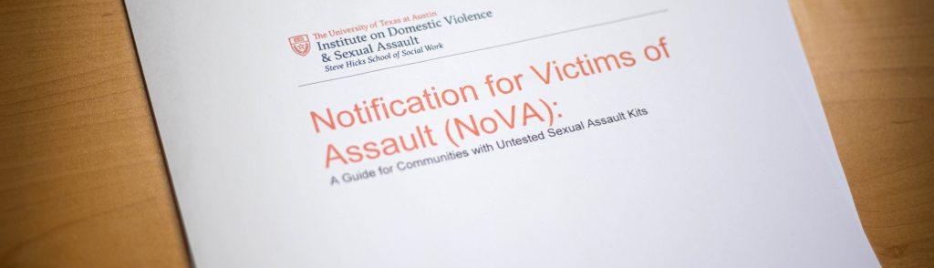 Photo of NoVA report
