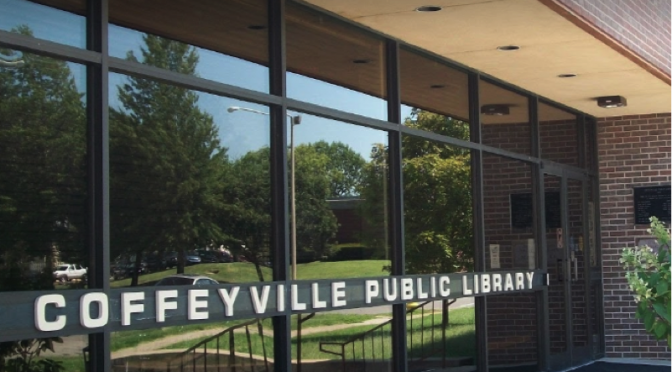 Coffeyville Public Library in Coffeyville Kansas