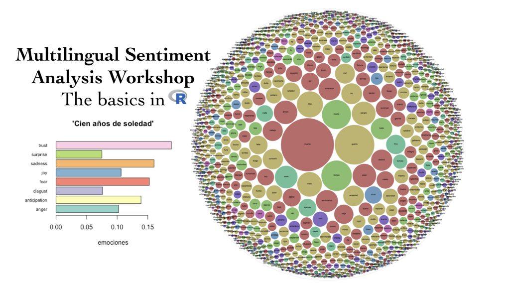 Promotional poster of Multilingual Sentiment Analysis Workshop