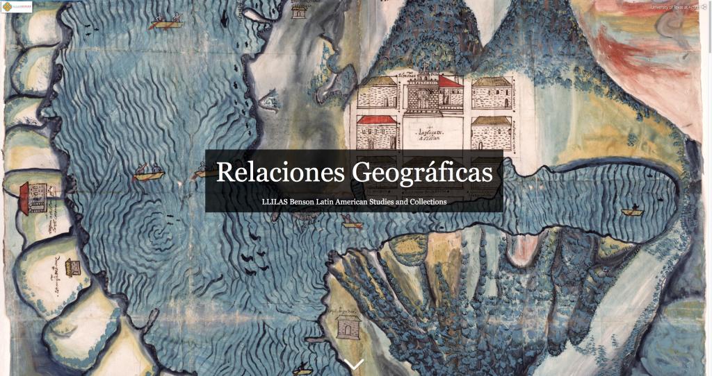 Relaciones Geograficas Home Page