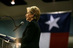 Hillary Clinton in Texas in the 2008 Presidential Campaign