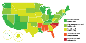 state LEED policy