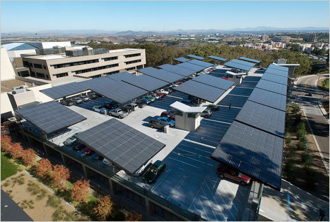 Solar Grove at UCSD