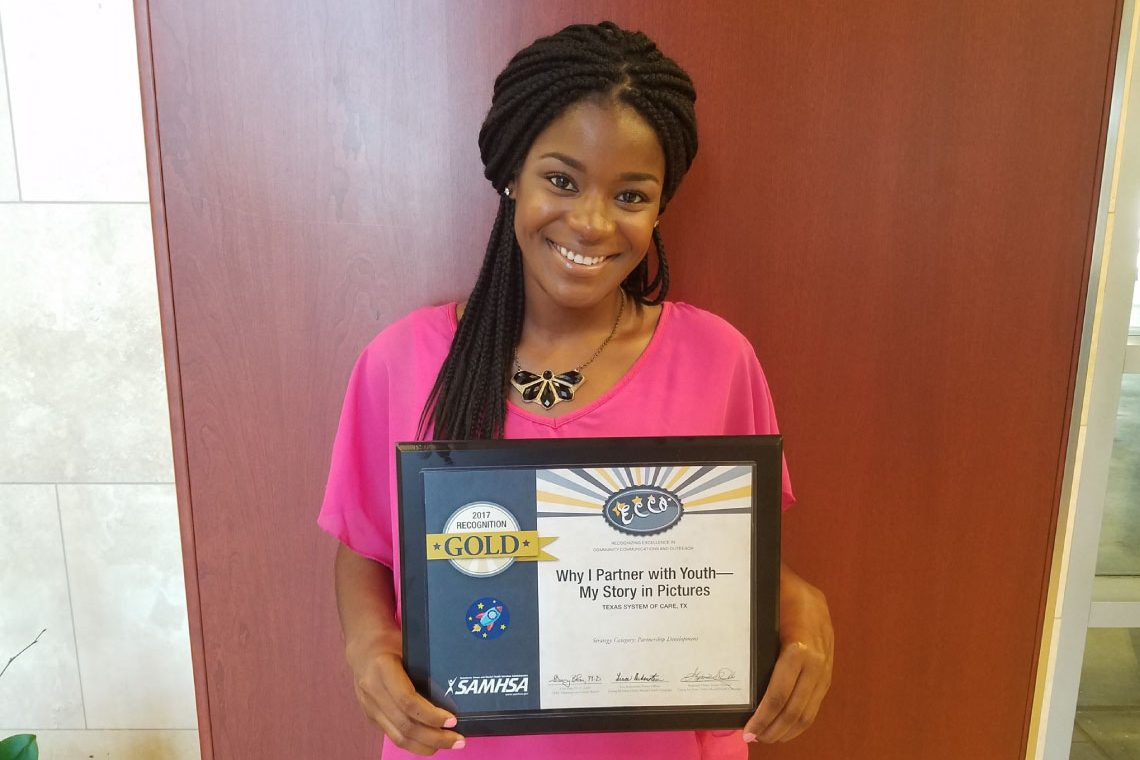TIEMH receives five SAMHSA Excellence in Community Communications and Outreach awards