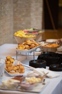 Photo of food at a buffet