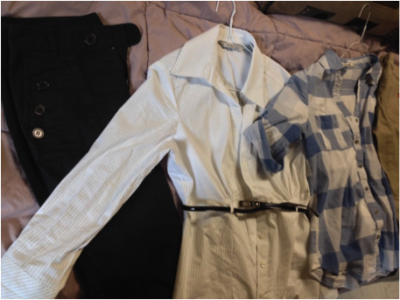 Clothes for interview