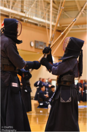 Kendo exhibition