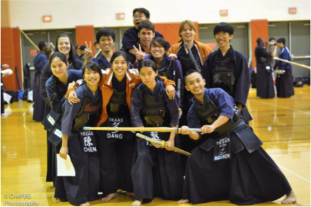 Participants of Kendo tournament