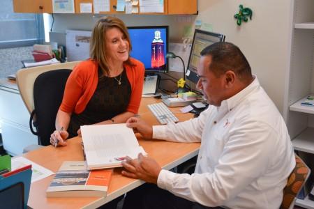 Graduate coordinators for the UT Austin School of Nursing