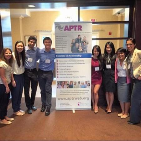 students at symposium in Washington, DC