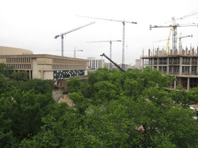 construction of UT Austin medical center