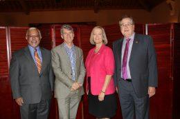 deans of four health care disciplines