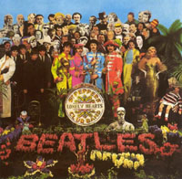 Cover of The Beatles album Sgt. Pepper's Lonely Hearts Club Band