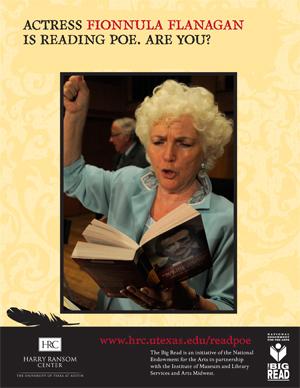 Fionnula Flanagan is reading Poe.