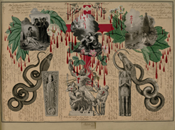 Page from Victorian Blood Book