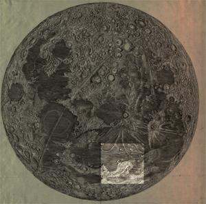Cassini's moon map