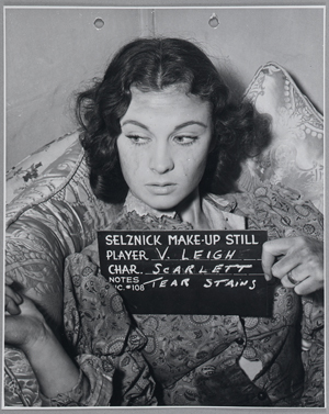 Makeup reference photo of Vivienne Leigh