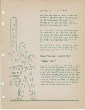 Click image to enlarge. Interstate Theaters Year Book: Slack Night, 1941